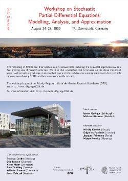 SPDE09 conference poster